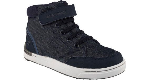 Viking Mark Mid Shoes Juniors Navy/White